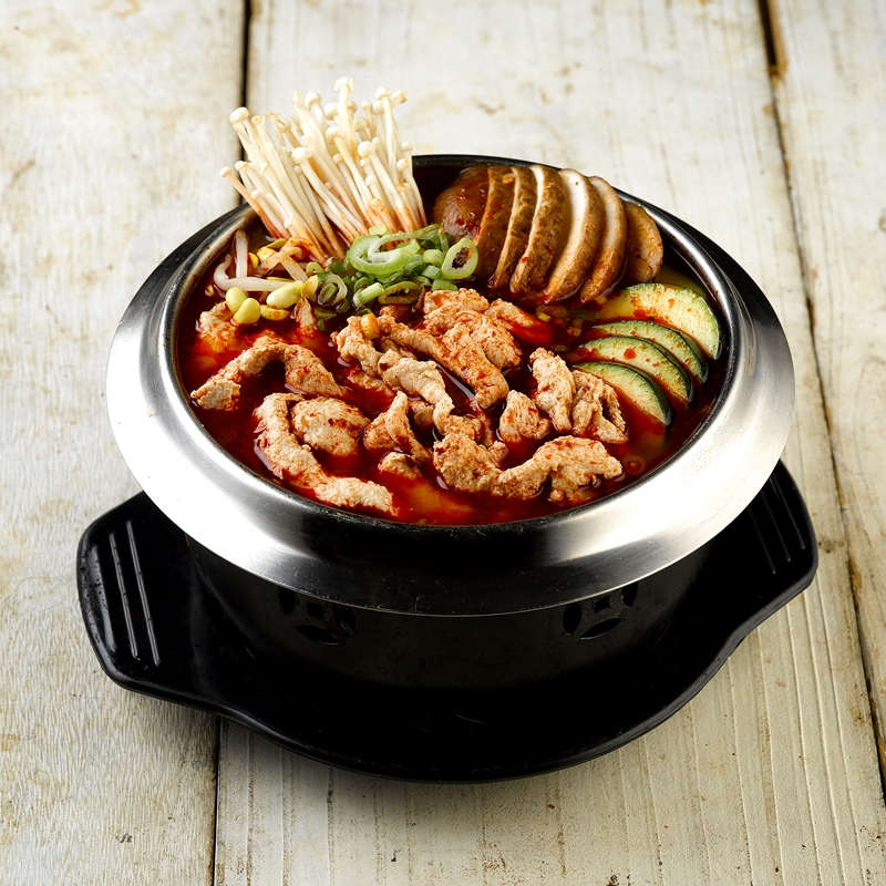 Marinated Sliced Chicken Champong Hot Pot800px