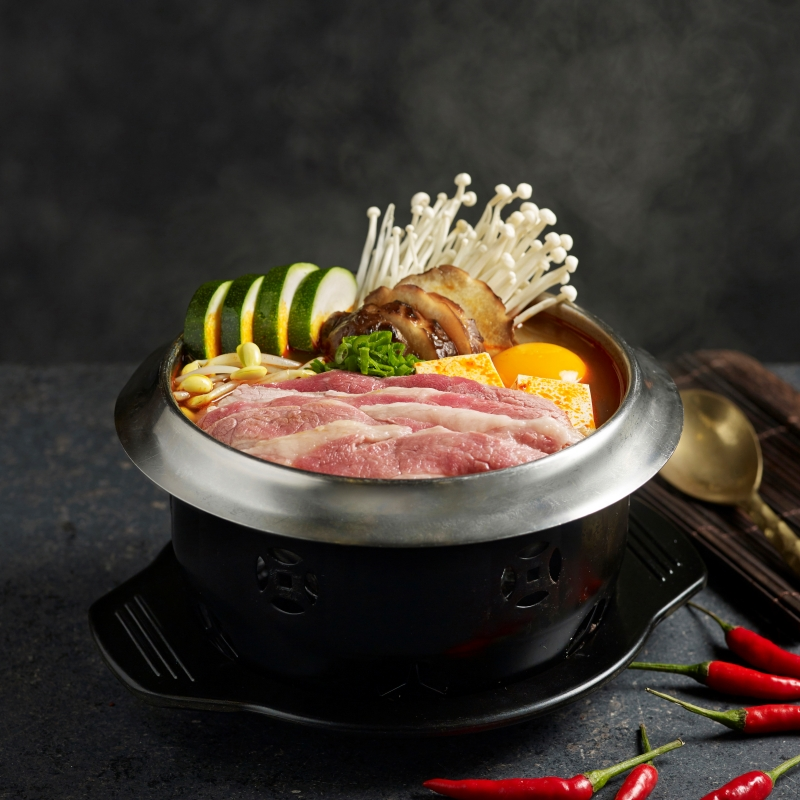 Soon Dubu Beef Hot Pot