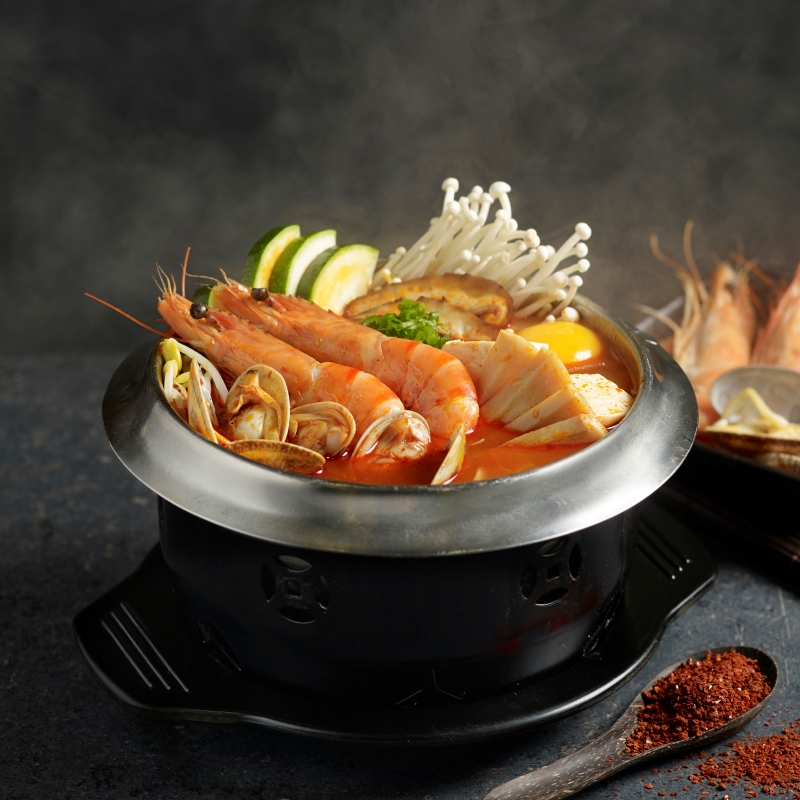 Soon Dubu Seafood Hot Pot