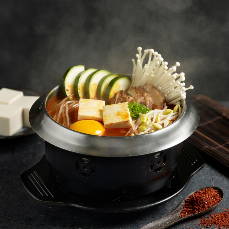 Soon Dubu Meat-Free Hot Pot