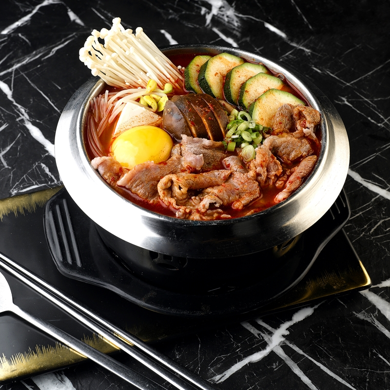 Wagyu Beef Spicy Soon Dubu Hot Pot