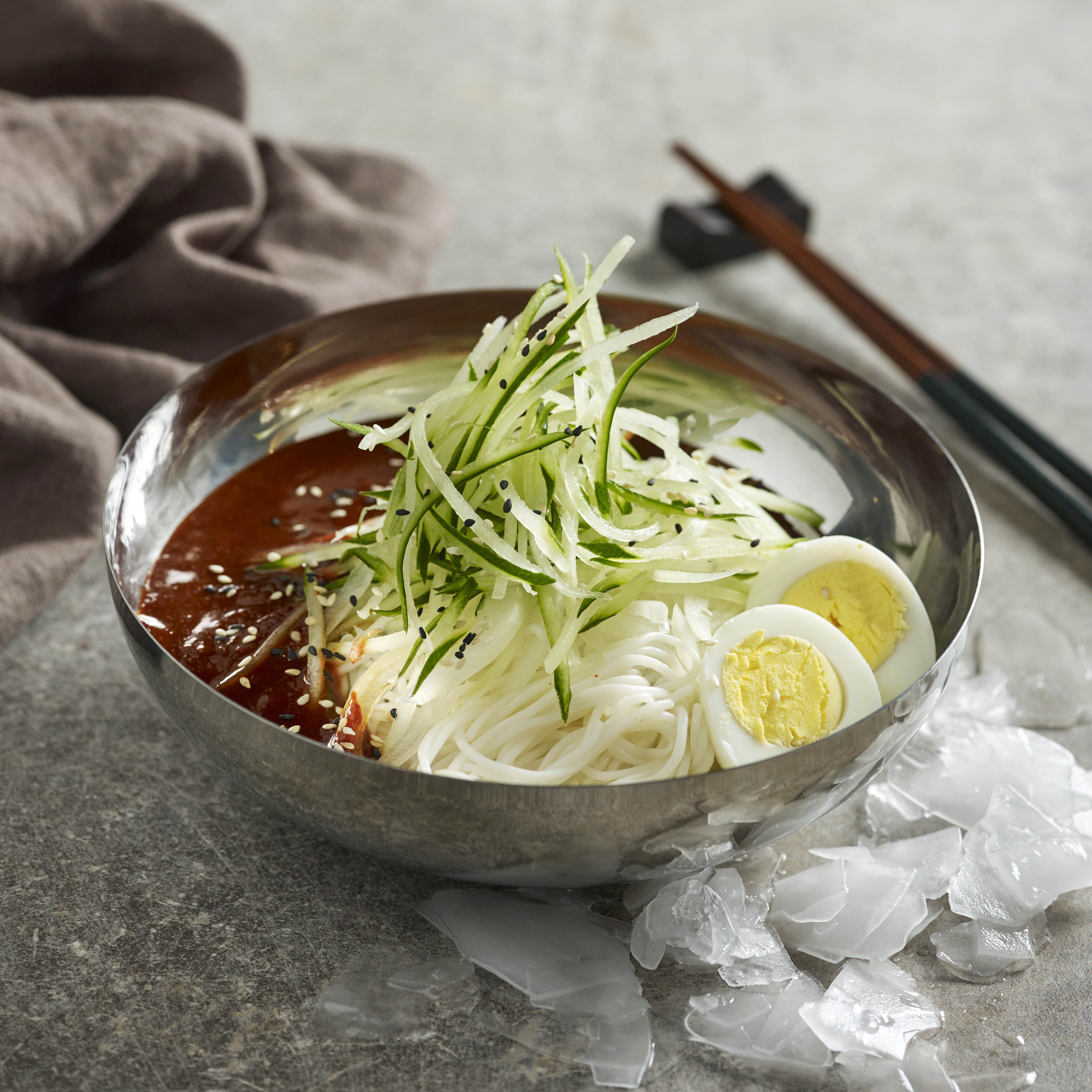 Bibim Naengmyeon (Spicy Cold Noodle)